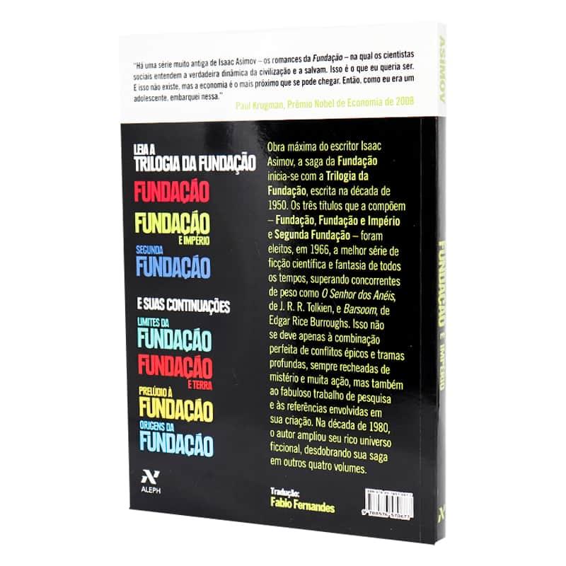 Livro Fundação e Império - Isaac Asimov