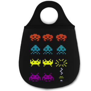 Lixeira para Carro Space Invaders