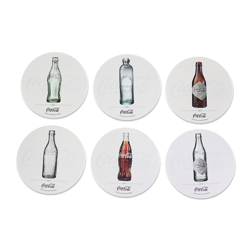 Porta Copos 6 Peças Coca Cola Bottles