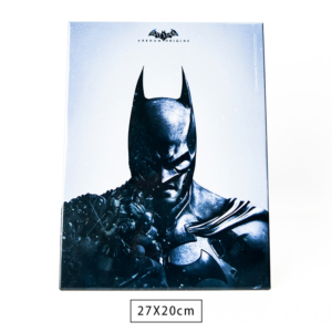 Placa Decorativa de Metal Batman Arkham - Dc Comics