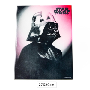 Placa de Metal Darth Vader - Star Wars