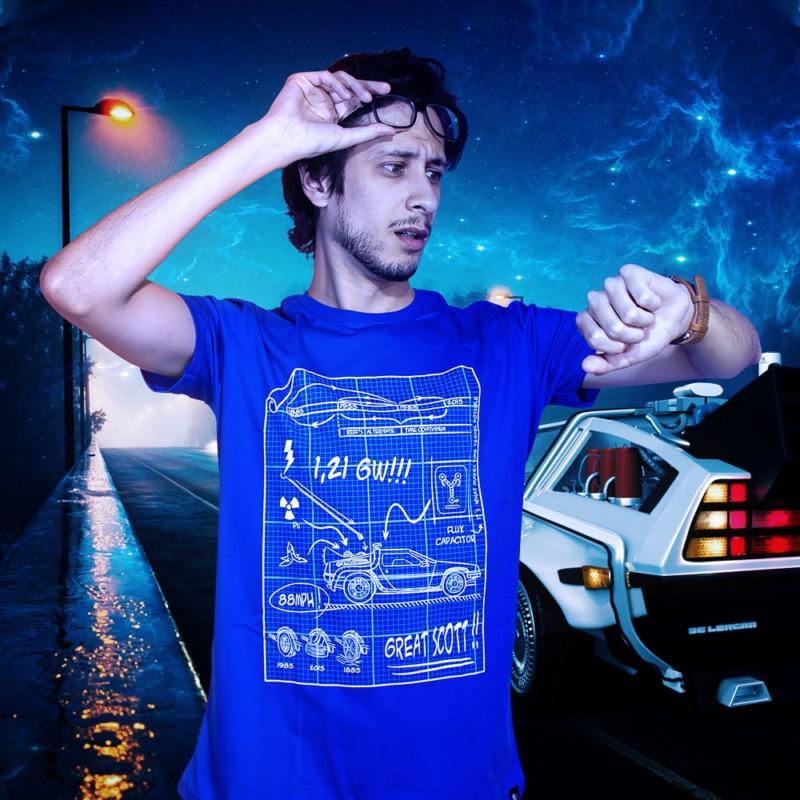 Camiseta BTTF