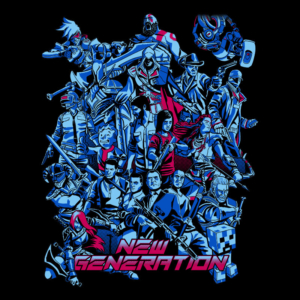 Camiseta New Generation