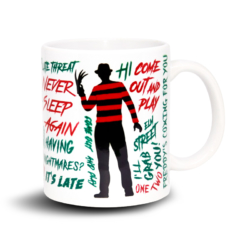 Caneca Criativa Welcome to My Nightmare - Pesadelo