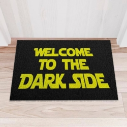 Capacho Criativo - Welcome to the Dark Side