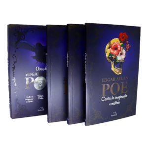 Box Edgar Allan Poe - 3 Volumes