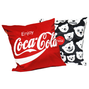 Kit Almofadas  Decorativa Coca Cola Polar Bears