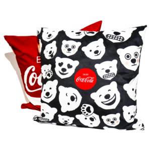 Kit Almofadas Coca Cola Polar Bears