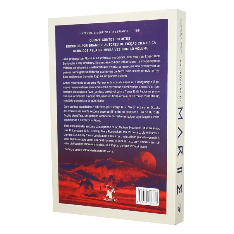 Livro As Crônicas de Marte - George R.R. Martin