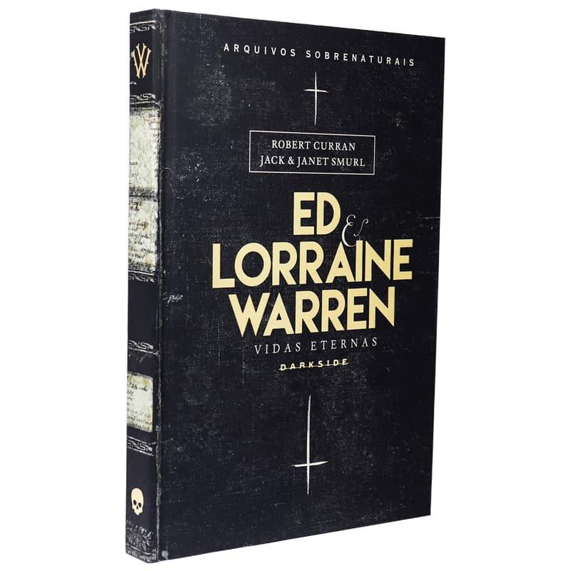 Livro Ed e Lorraine Warren: Vidas Eternas