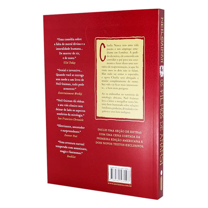 Livro Os Filhos de Anansi - Neil Gaiman
