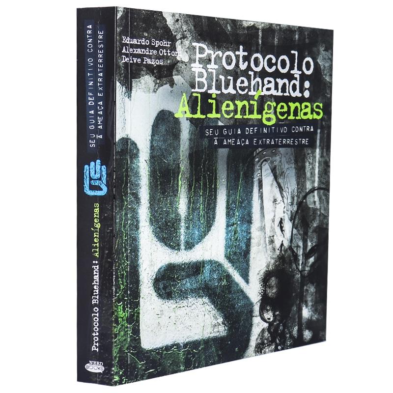 Livro Protocolo Bluehand: Alienígenas