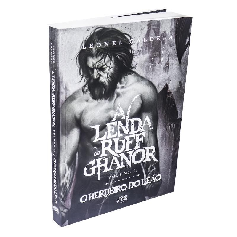 Livro A lenda De Ruff Ghanor – Volume 02