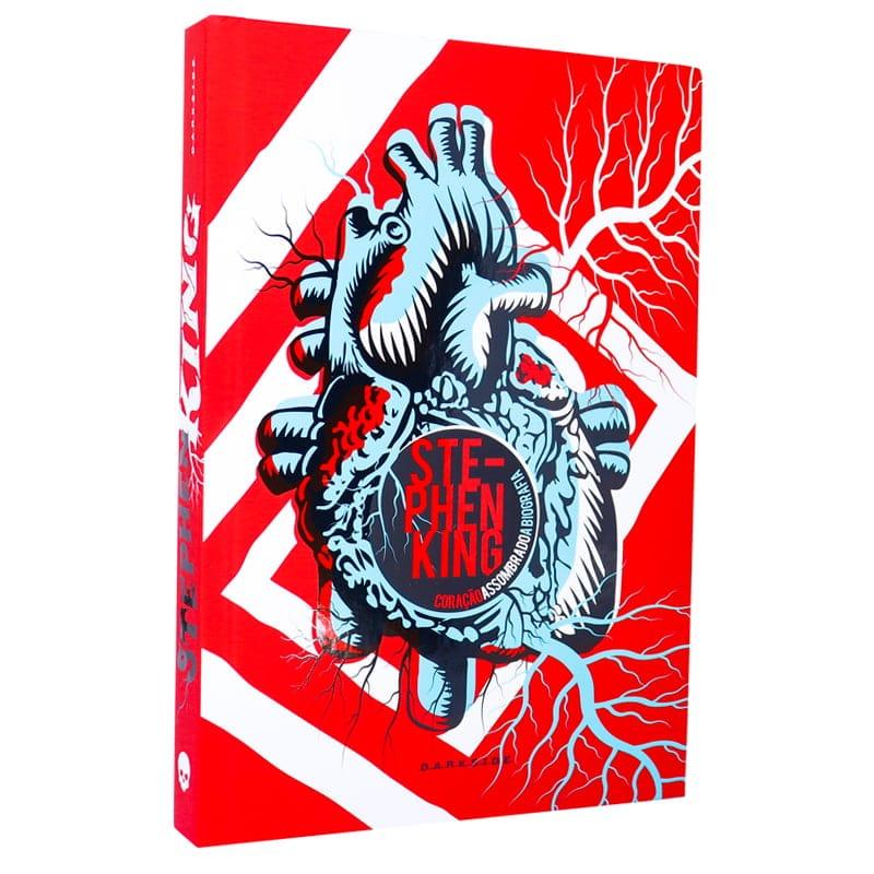 Livro Stephen King A Biografia: Coração Assombrado