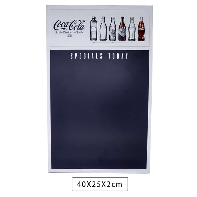 Lousa Madeira Decorativa Coca Cola