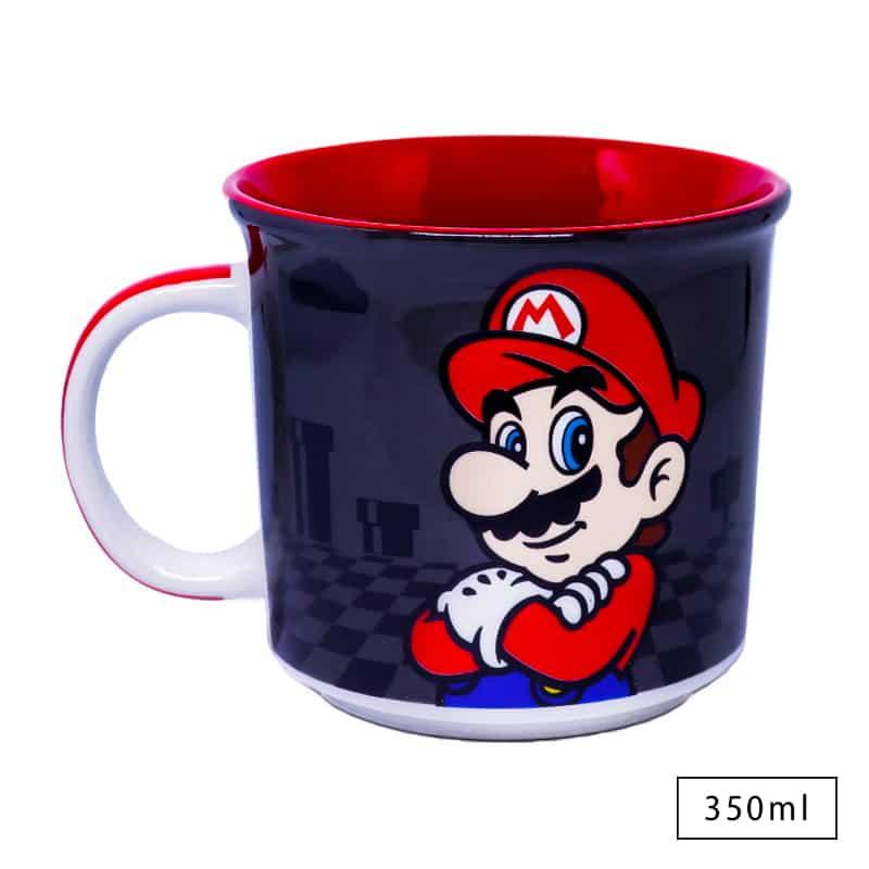 Caneca Super Mario Black