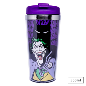 Copo Térmico Joker Shadow - Dc Comics