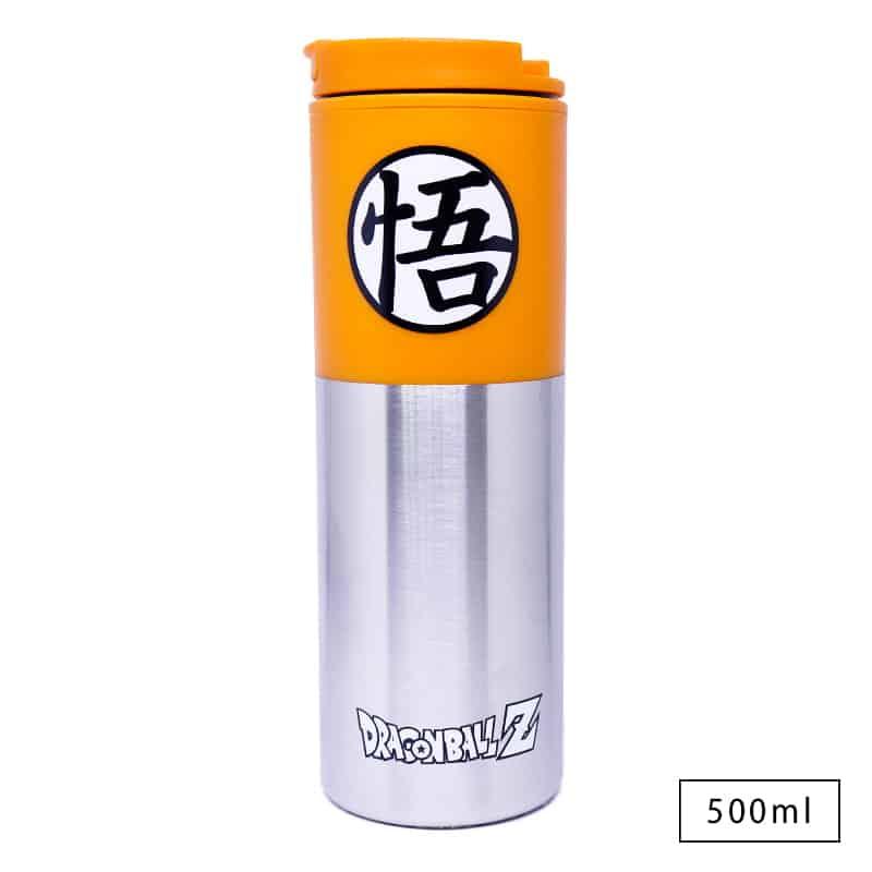 Copo Viagem de Alumínio Goku Símbolo - Dragon Ball Z