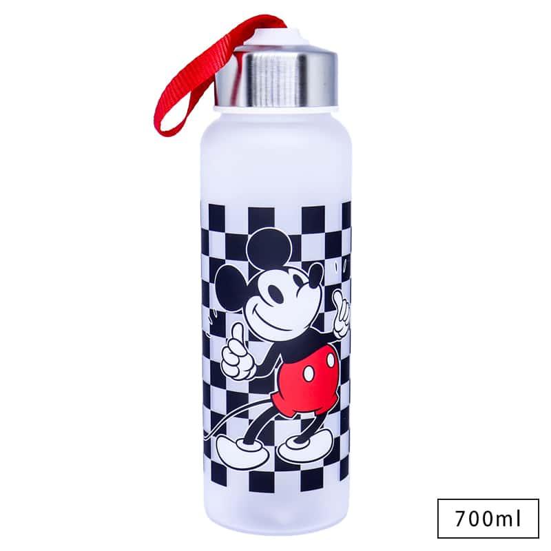 Garrafa com Alça Mickey Xadrez - Disney
