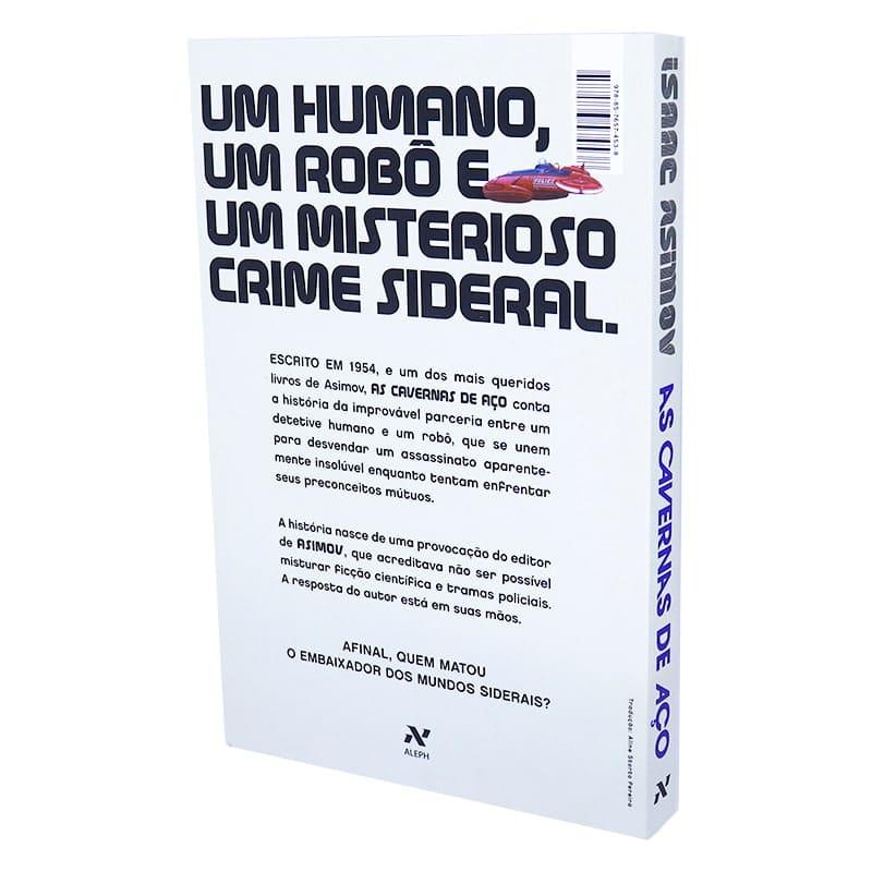Livro As Cavernas de Aço - 2 Ed. - Isaac Asimov
