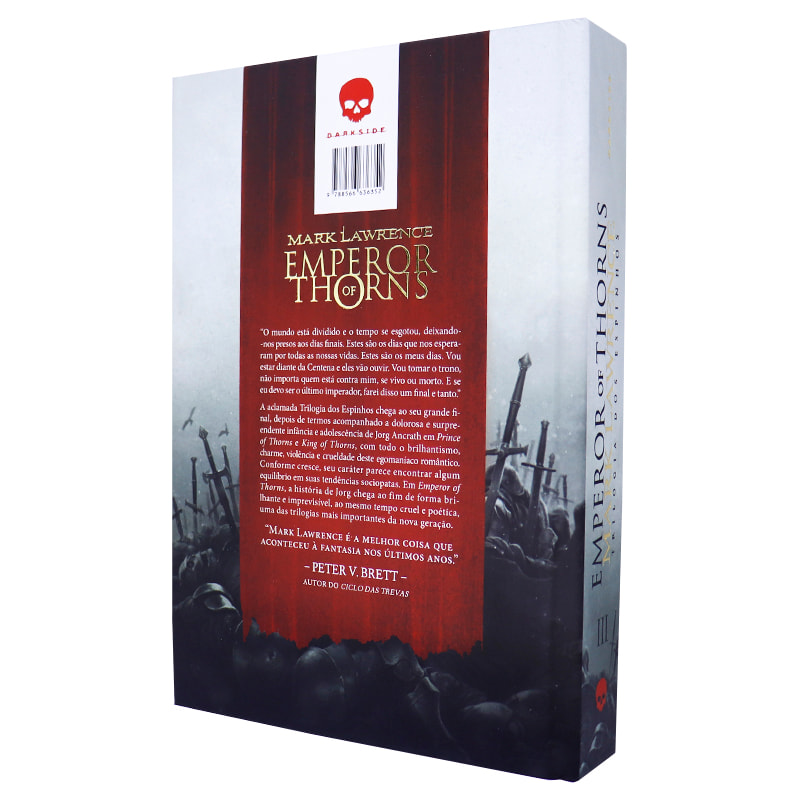 Livro Emperor of Thorns - Deluxe Edition