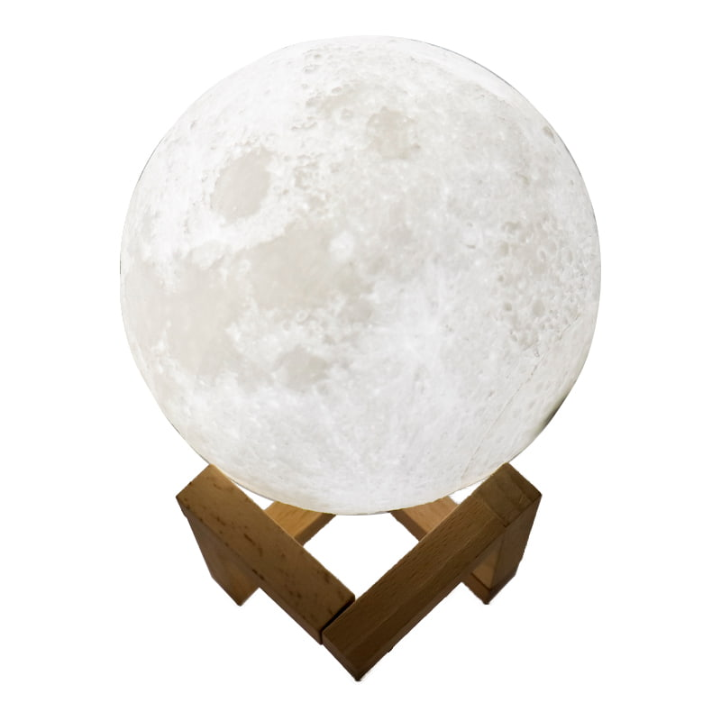 Luminária Lua Led - 16 Cores com Controle