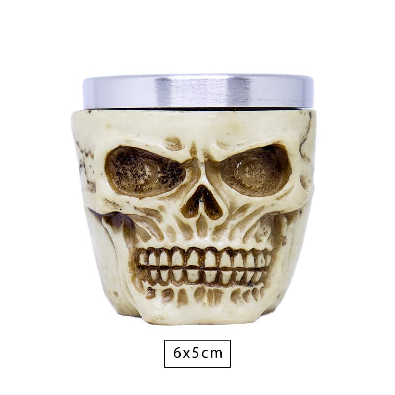 Copo Shot Skull