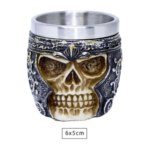 Copo Shot Viking Skull