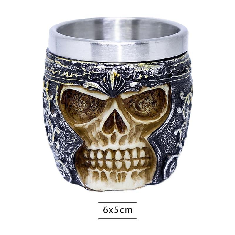 Copo Shot Viking Skull