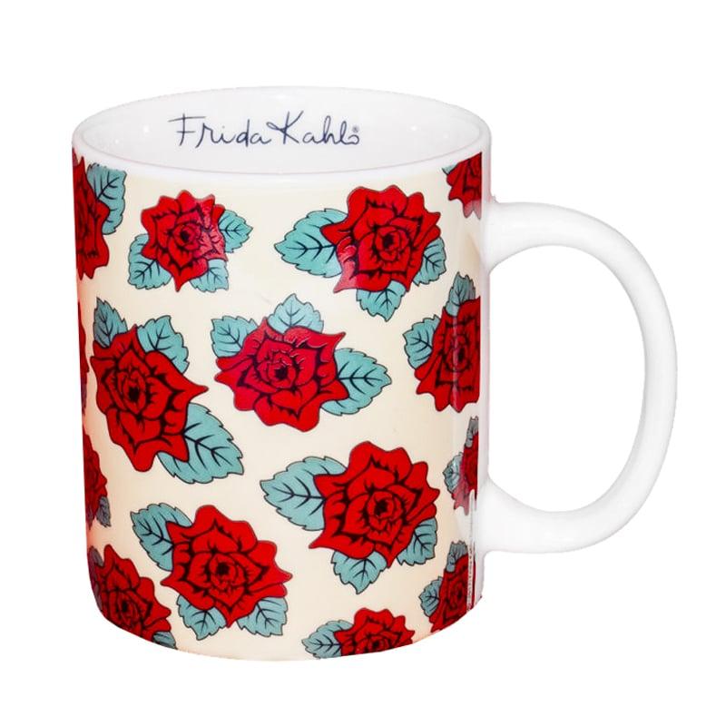 Caneca Rosas Vermelhas - Frida Kahlo