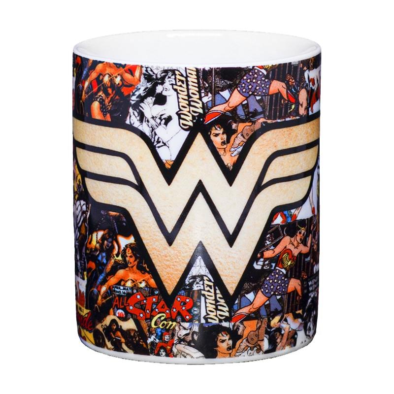 Caneca Quadrinhos Mulher Maravilha - DC Comics