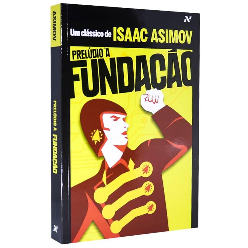 Livro Prelúdio à Fundação - Isaac Asimov
