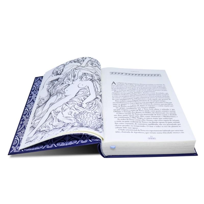 Livro O Livro da Mitologia - A Idade da Fábula - Thomas Bulfinch