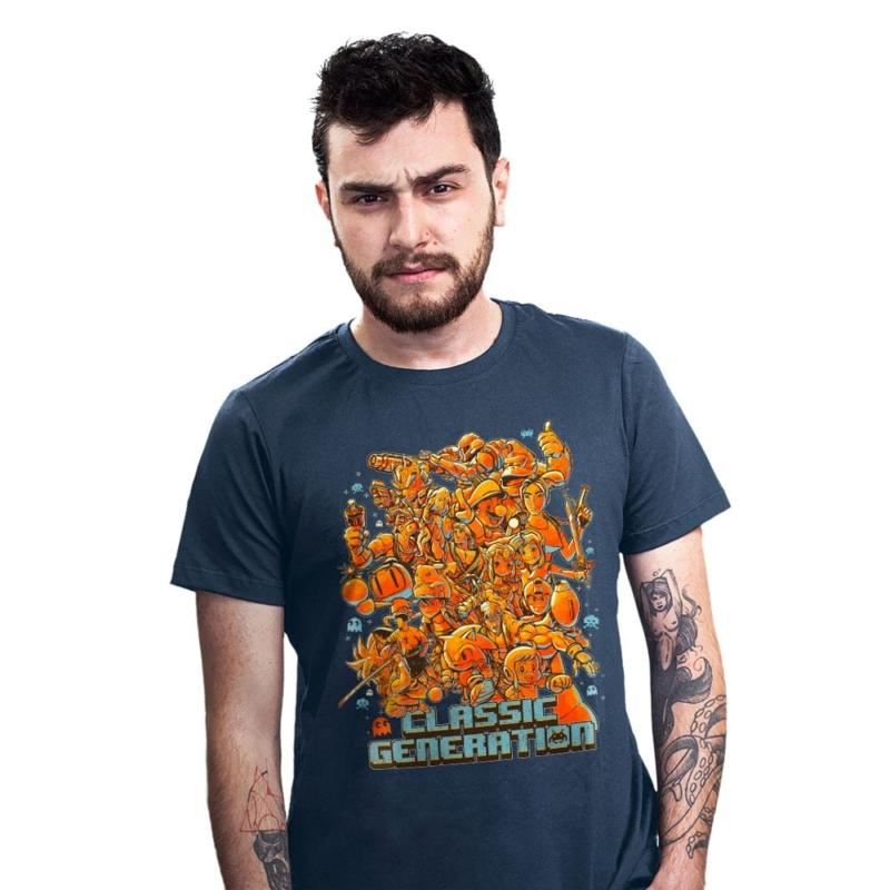 Camiseta Gamer - Classic Generation