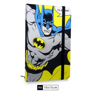 Caderneta WB I am Batman - Dc Comics
