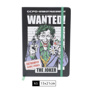 Caderneta WB DC Joker Wanted