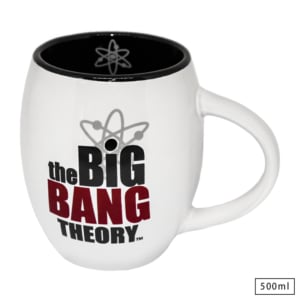 Caneca Bulging WB The Big Bang Theory - Personagens