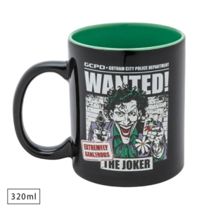 Caneca WB Joker Wanted - Dc Comics