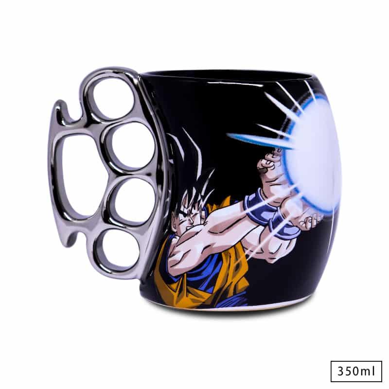 Caneca Soco Inglês Goku - Dragon Ball Z