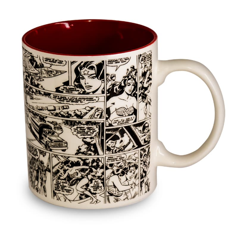 Caneca WB Wonder Woman Face - Dc Comics