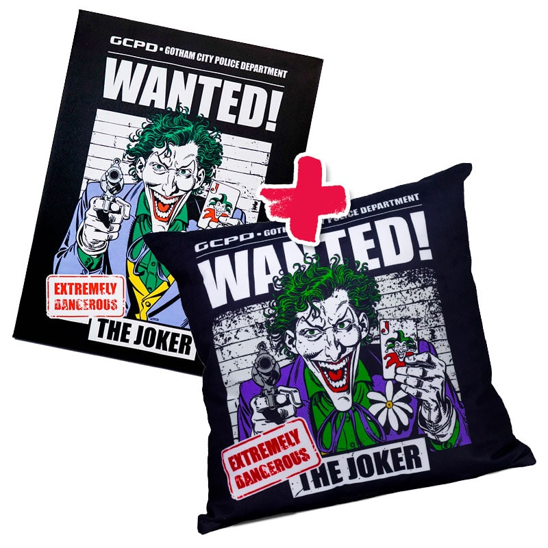 Combo Joker Wanted