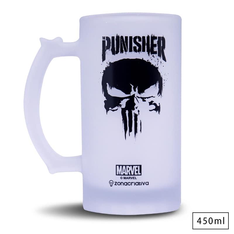Caneca de Chopp Punisher - Marvel
