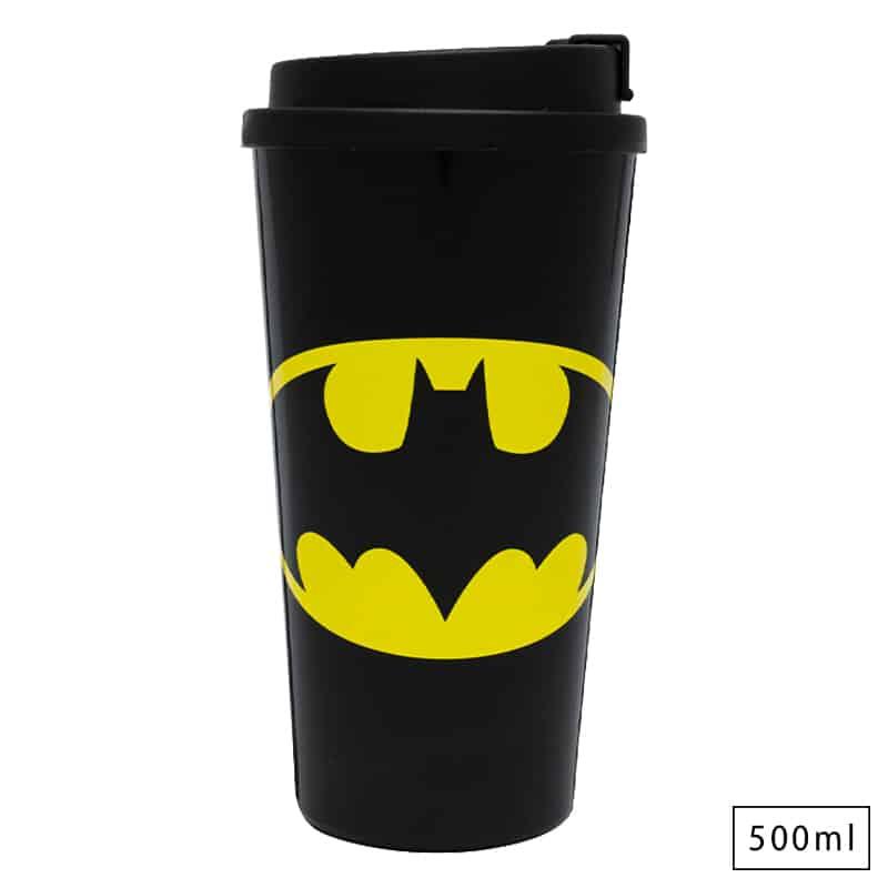 Copo com Tampa WB Batman Logo - Dc Comics