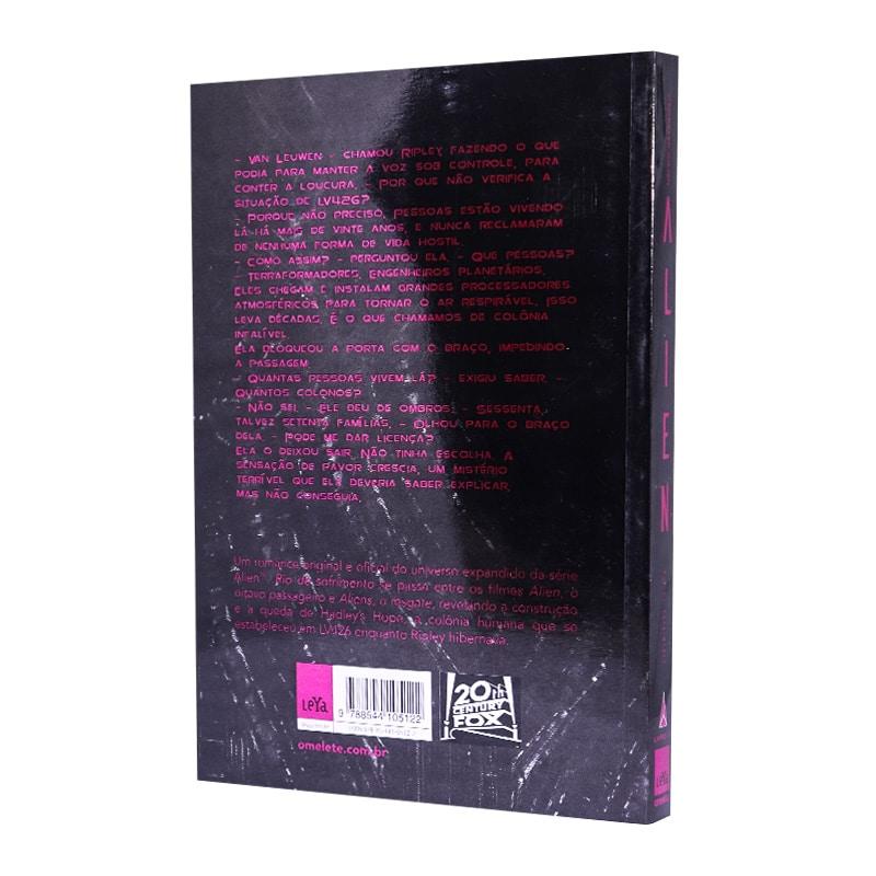 Livro Alien: Rio de Sofrimento - Volume 3 - Christopher Golden
