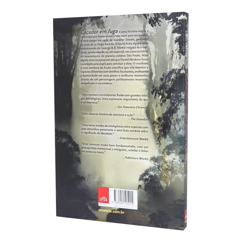 Livro Caçador em Fuga - George R.R. Martin; Gardner Dozois; Daniel Abraham