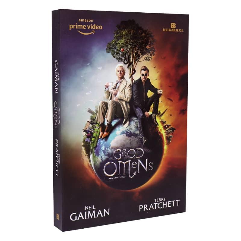 Livro Good Omens: Belas Maldições - Neil Gaiman; Terry Pratchett