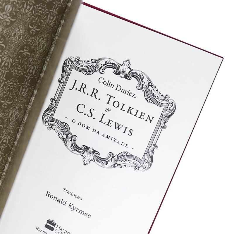 Livro J.R.R. Tolkien e C.S. Lewis: O Dom da Amizade - Colin Duriez