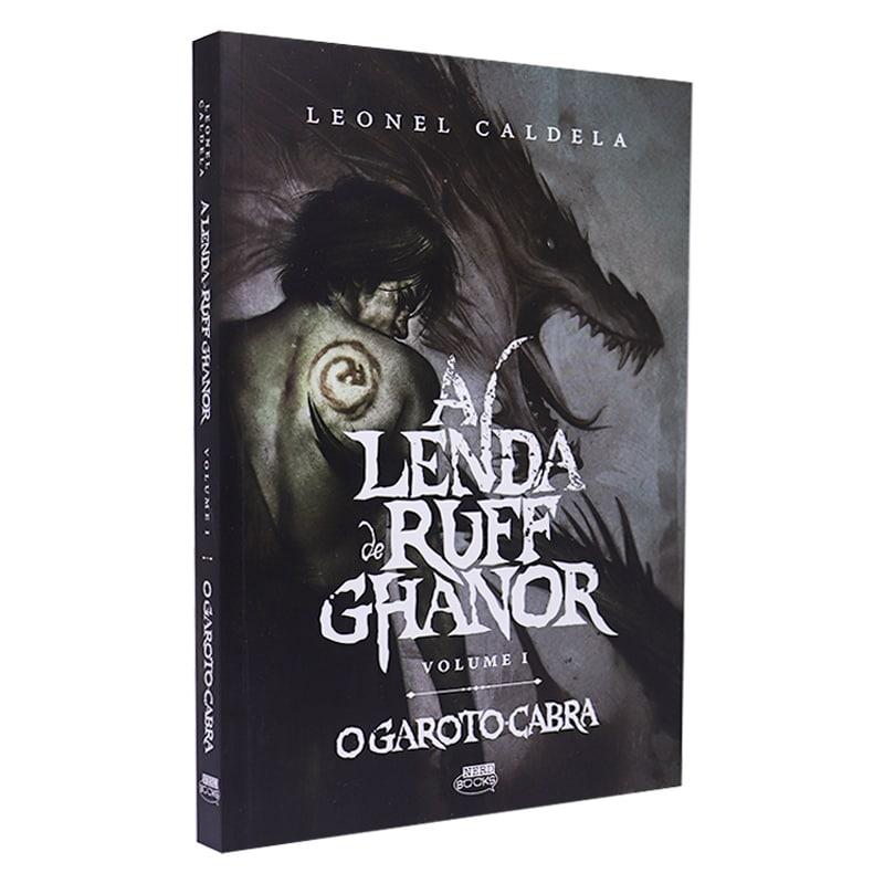Livro A Lenda de Ruff Ghanor - Volume 01 - Leonel Caldela