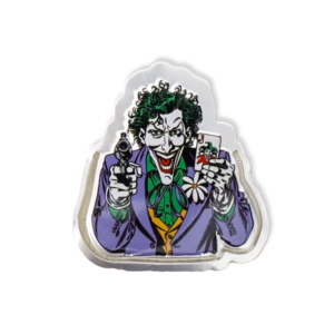 Marcador de Páginas Joker Face - Dc Comics