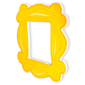 Placa WB Peephole Door Frame - Friends